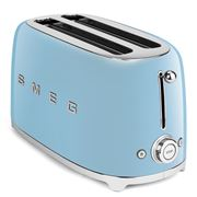 Smeg - 50's Retro Four-Slice Toaster TSF02 Pastel Blue