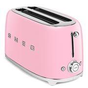 Smeg - 50's Retro Four-Slice Toaster TSF02 Pastel Pink