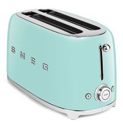 Smeg - 50's Retro Four-Slice Toaster TSF02 Pastel Green