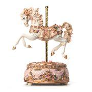 StyleSetter - Musical Pink Carousel Horse