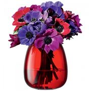 LSA - Flower Table Posy Red Vase