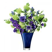 LSA - Flower Cobalt Flared Bouquet Vase