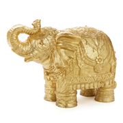 Mario Luca Giusti - Elephant Gold Medium Ceramic-Look Candle