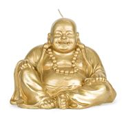 Mario Luca Giusti - Ceramic-Look Little Gold Buddha Candle