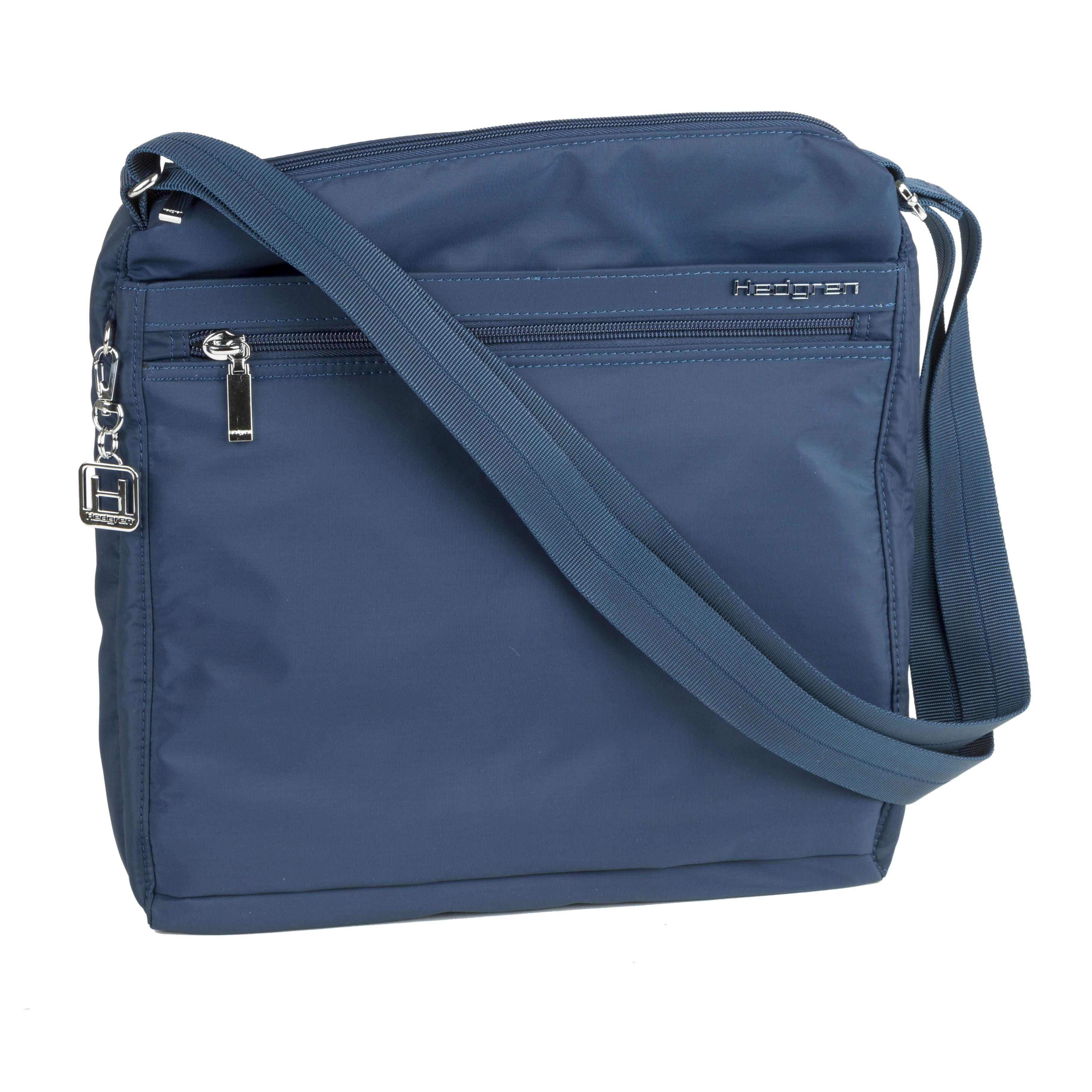 Hedgren - Inner City Fanzine Shoulder Bag Dress Blue  f6fd7a6daf878