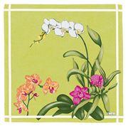 Beauville - Orchidees Green Napkin