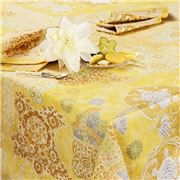 Beauville - Rialto Tablecloth Yellow 170x240cm