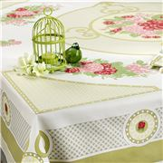Beauville - Valencay Anis Square Tablecloth 170cm