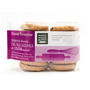 Whisk & Pin -  Fig Macadamia & Ginger Cookies 400g