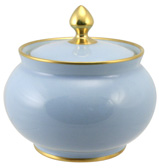 Limoges - Legle Ice Blue Sugar Bowl