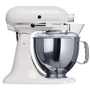 KitchenAid - Artisan KSM150 White Mixer