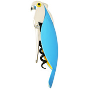 Alessi - Parrot Corkscrew Blue