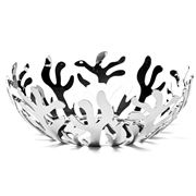 Alessi - Mediterraneo Large Stainless Steel Fruit Bowl