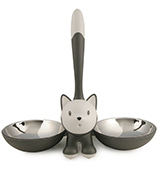 Alessi - Tigrito Cat Bowl Grey