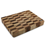 Wiltshire - End Grain Contrasting Chopping Block 35x25cm