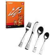 Henckels - Twin Kids Cutlery Set Teddy 4pce