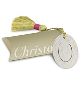 Christofle - Oval Bamboo Bookmark