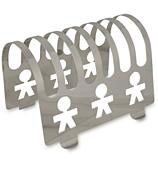 Alessi - Girotondo Boy Toast Rack