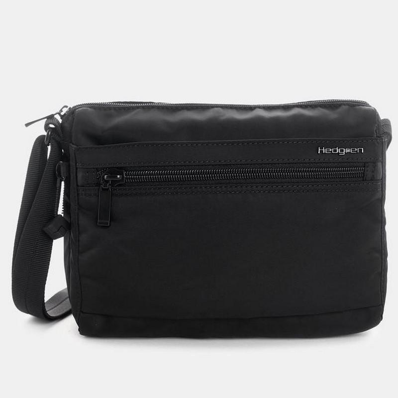 NEW Hedgren Inner City Metro Shoulder Bag Black 5413507818576  2c6379018ec14