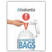 Brabantia - Pedal Bin Plastic Liners B 60 x 5L