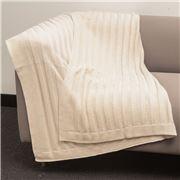Bemboka - Pure Soft Combed Cotton Throw Flat Rib Sand
