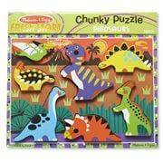 Melissa & Doug - Dinosaurs Chunky Puzzle 7pce