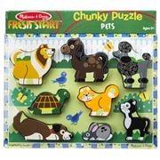 Melissa & Doug - Chunky Pets Puzzle 8pce