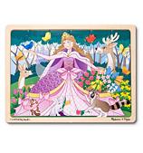 Melissa & Doug - Woodland Princess Jigsaw Puzzle 24pce