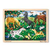 Melissa & Doug - Frolicking Horses Jigsaw Puzzle 48pce