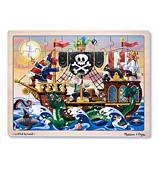 Melissa & Doug - Pirate Adventure Jigsaw Puzzle 48pce