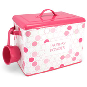 Retro Kitchen - Dotty Laundry Powder Bin