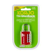 Korjo - Wordlock TSA Combination Lock