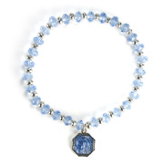 Vatican Library Collection - Kingdom of God Blue Bracelet