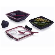 Black+Blum - Box Appetit Lunch Box Black & Red