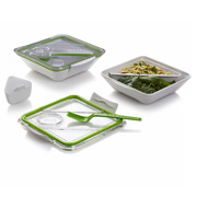 Black+Blum - Box Appetit Lunch Box White & Lime