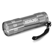 Korjo - Pocket LED Torch Silver