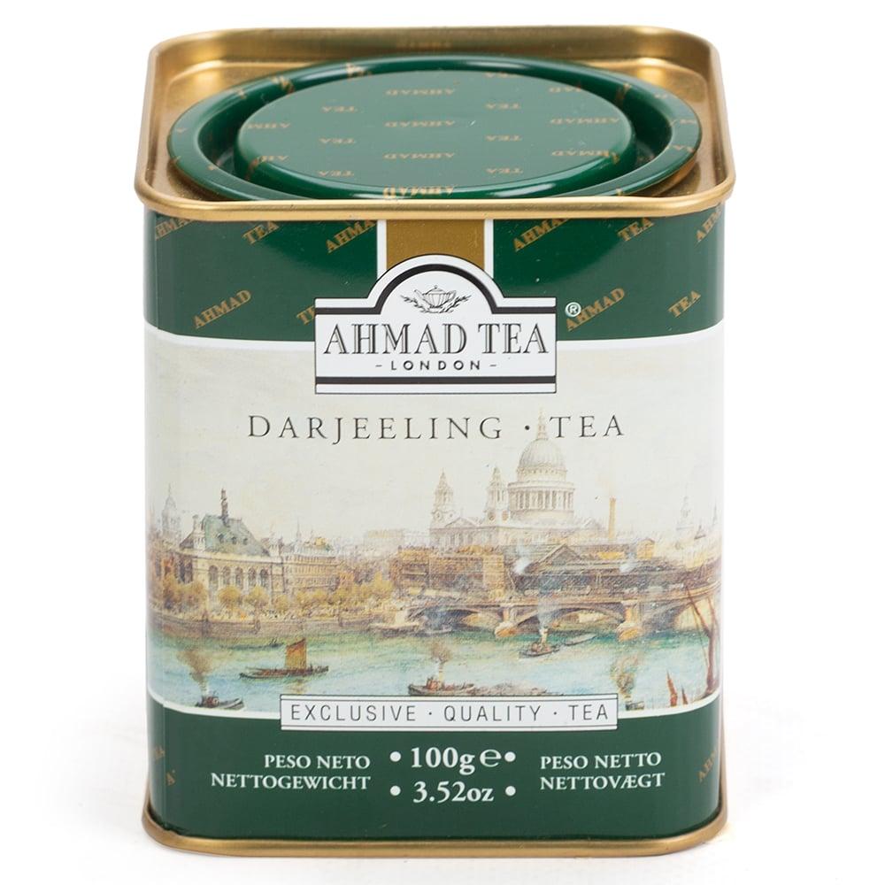 Ahmad Tea - Darjeeling Loose Leaf Tea Caddy 100g | Peter's of Kensington