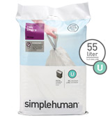 Simplehuman - Sure Fit Liner U Pack 20