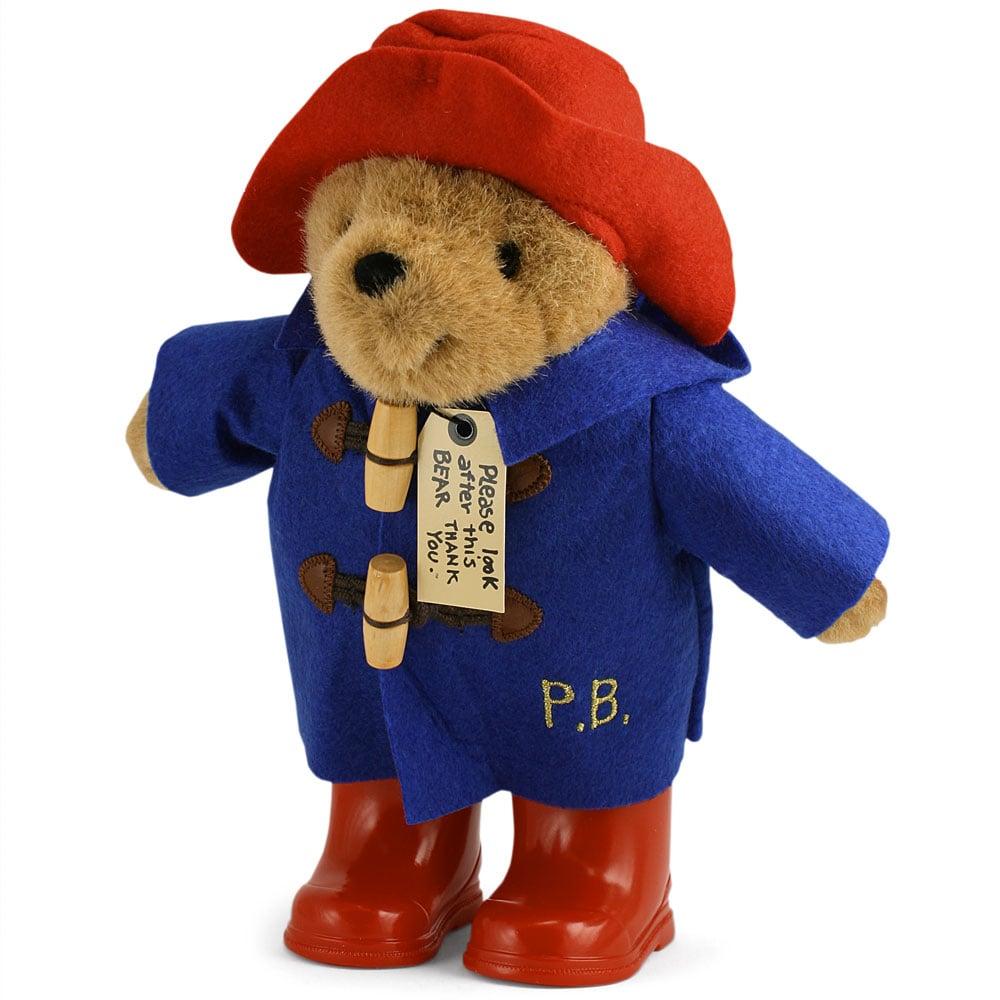 Paddington - Paddington Bear Rainy Day Toy 22cm   Peter's of Kensington