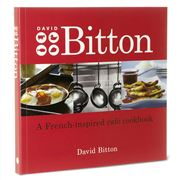 Book - David Bitton A French Inspired Cafe Cookbook