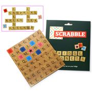 Scrabble - Fridge Magnet Set