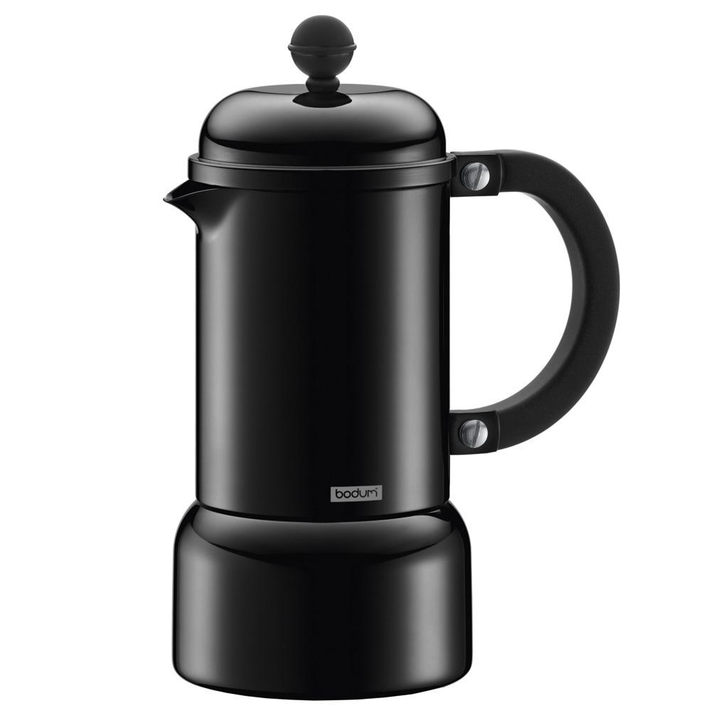 Stovetop Coffee Maker Gift : Bodum - Chambord Black Stovetop Espresso Maker 3 Cup