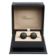 Chopard - Gear Shift Matte Black Cufflinks