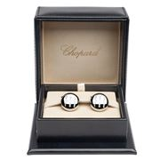 Chopard - Gear Shift Stainless Steel Cufflinks