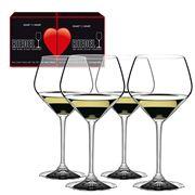 Riedel - Heart To Heart Chardonnay Set 4pce