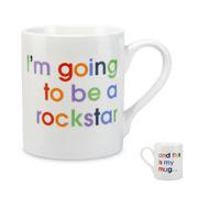 McLaggan Smith - I'm Going To Be A Rockstar Mug