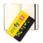 Moleskine - Lego Small Green Notebook with Plain Pages