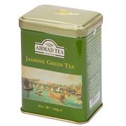 Ahmad Tea - Jasmine Green Tea Loose Leaf Tea Caddy 100g