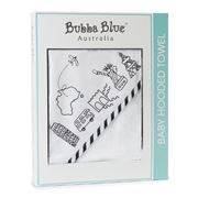 Bubba Blue - Small World Hooded Towel