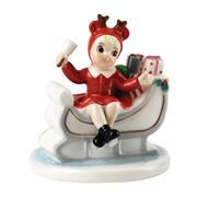 Royal Doulton - Nostalgic Christmas Sleigh of Gifts Figurine